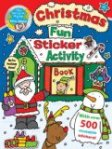 Christmas Fun Sticker Activity Book